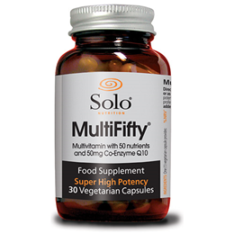 Solo Nutrition MultiFifty - 30 Vegicaps