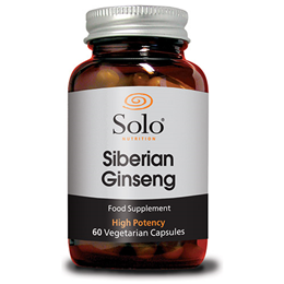 Solo Nutrition Siberian Ginseng - 60 Vegicaps