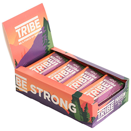 TRIBE Choc Peanut Butter Protein Bars - 16 x 50g