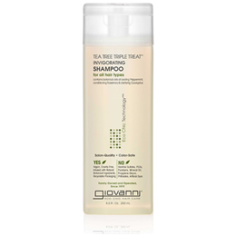 Giovanni Tea Tree Triple Treat Invigorating Shampoo - 250ml