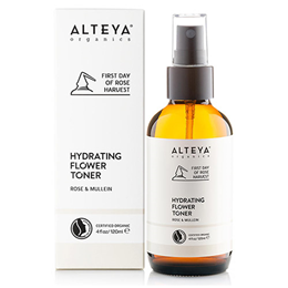 Alteya Organics - Hydrating Flower Toner Rose & Mullein - 120ml