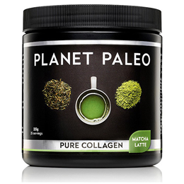 Planet Paleo Matcha Latte Pure Collagen - 225g Powder