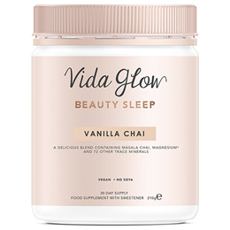 Vida Glow Vanilla Chai Beauty Sleep Powder - 210g