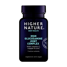 Higher Nature MSM Glucosamine Joint Complex - 90 Tablets