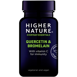 Higher Nature Quercetin and Bromelain with Vitamin C - 60 Tablets