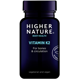 Higher Nature Vitamin K2 - 60 x 45mcg Tablets