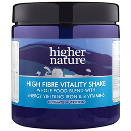 Higher Nature High Fibre Vitality Shake - 270g Powder