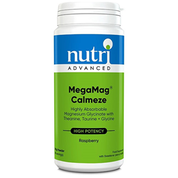 Nutri Advanced Raspberry MegaMag Calmeze - 270g Powder