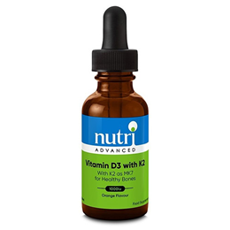 Nutri Advanced Vitamin D3 with K2 Drops - 30ml