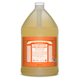Dr Bronner`s 18-in-1 Organic Tea Tree Pure-Castile Liquid Soap Refill - 3.8 Litre