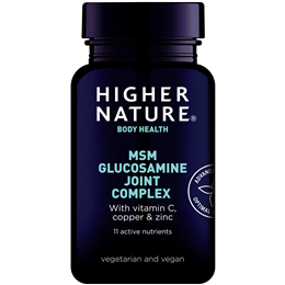 Higher Nature MSM Glucosamine Joint Complex - 240 Tablets