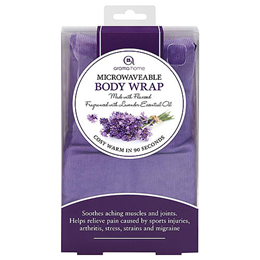 Aroma Home Soothing Body Wrap - Lavender Fragrance - Lilac