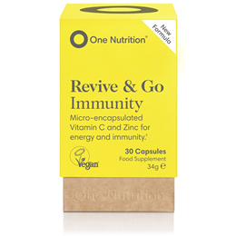 One Nutrition Revive & Go Immunity - 30 x 850mg Capsules