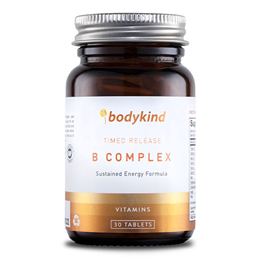bodykind Timed Release B-Complex - 30 Tablets