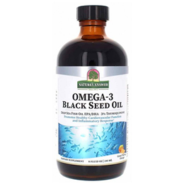 Nature`s Answer Omega-3 Black Seed Oil - 240ml
