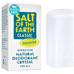 Salt of the Earth Classic Unscented Natural Crystal Deodorant Stick- 75g