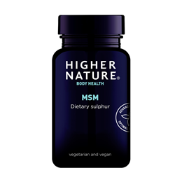 Higher Nature MSM - Sulphur - 180 x 1000mg Tablets