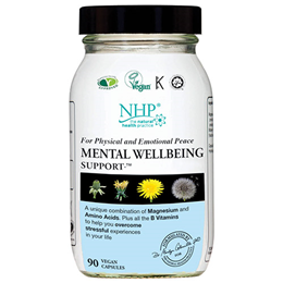 Natural Health Practice Mental Wellbeing Support - 90 Capsules