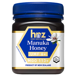 Honey New Zealand Manuka Honey UMF 6+ MGO 113+ - 250g