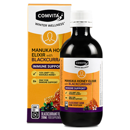 Comvita Manuka Honey & Blackcurrant Elixir - Winter Wellness - 200ml