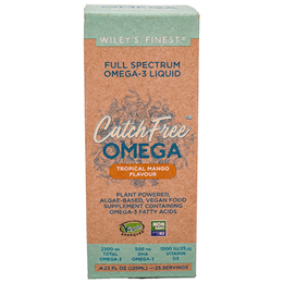 Wiley`s Finest CatchFree Omega - Full Spectrum Omega-3 - 125ml