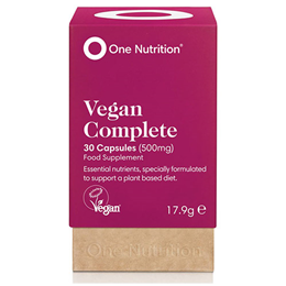 One Nutrition Vegan Complete - 30 Capsules