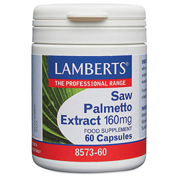 LAMBERTS Saw Palmetto Extract - 60 x 160mg Capsules