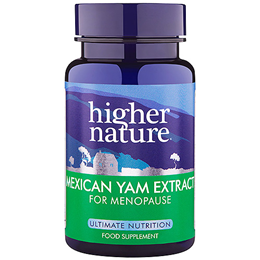 Higher Nature Mexican Yam Extract for Menopause - 30 Vegicaps
