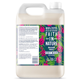 Faith in Nature Dragon Revitalising Fruit Body Wash Refill - 5 Litre