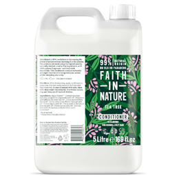 Faith in Nature Tea Tree Cleansing Conditioner for Normal to Oily Hair Refill - 5 Litre