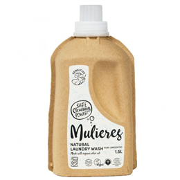 Mulieres Pure Unscented Natural Laundry Wash - 1.5 Litres