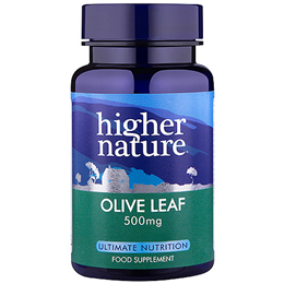 Higher Nature Olive Leaf Extract - 30 x 500mg Vegicaps