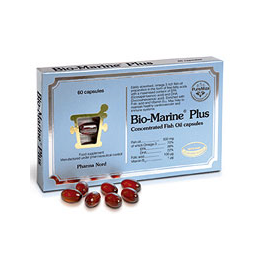 Pharma Nord Bio-Marine Plus - 60 Capsules - 70% Omega 3 Fish Oil