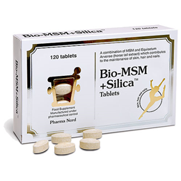 Pharma Nord Bio-MSM+Silica - 120 x 750mg Tablets