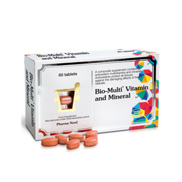 Pharma Nord Bio-Multi Vitamin and Mineral  - 60 Tablets