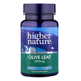 Higher Nature Olive Leaf Extract - 90 x 500mg Vegicaps