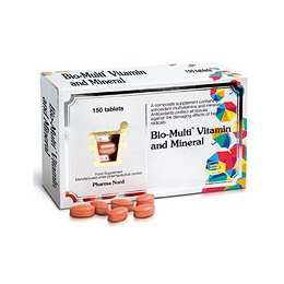 Pharma Nord Bio-Multi Vitamin and Mineral  - 150 Tablets
