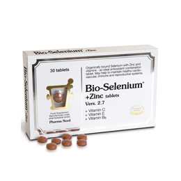 Pharma Nord Bio-Selenium + Zinc (inc.vitamin C, E and B6) - 30 Tablets