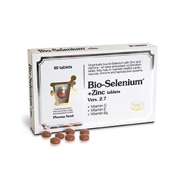 Pharma Nord Bio-Selenium + Zinc (inc.vitamin C, E and B6) - 90 Tablets