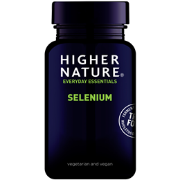 Higher Nature Selenium - 60 x 200mcg Tablets