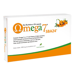 Pharma Nord Omega 7 - Sea Buckthorn Oil - 150 Capsules