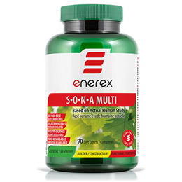 Enerex SONA - Multivitamin - 90 Tablets