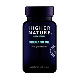 Higher Nature Oregano Oil for Gut Health  - 30 x 50mg Capsules