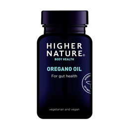 Higher Nature Oregano Oil - For Gut Health - 90 x 50mg Capsules