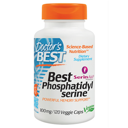 Doctors Best Phosphatidylserine - 120 x 100mg Vegicaps
