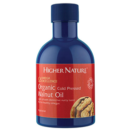 Higher Nature Omega Excellence Organic Cold Pressed Walnut Oil - 200ml