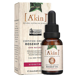 A kin Rosehip Oil - Pure Radiance Rosehip Oil Certified Organic - 23ml