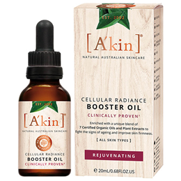 A`kin Organic Cellular Radiance Booster Oil - 20ml