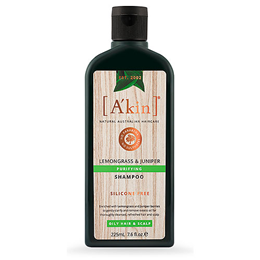 A kin Lemongrass Shampoo - For Normal to Oily Hair & Scalp - 225ml