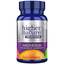 Higher Nature True Food Magnesium - 30 x 50mg Tablets